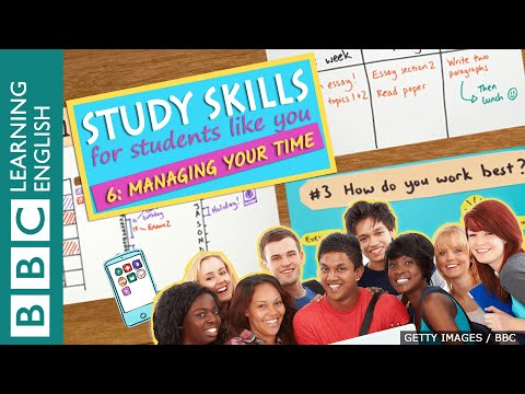 Study Skills – Managing your time