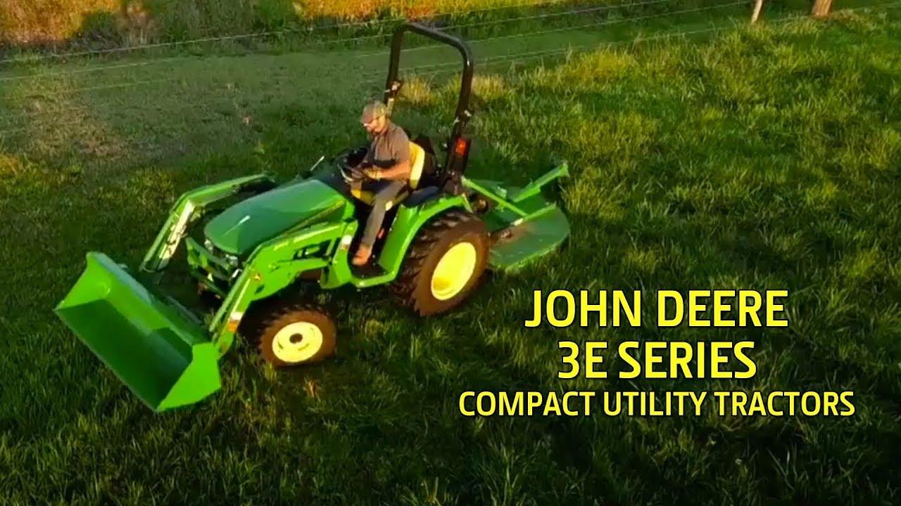 John Deere 3025E 24-hp Compact Utility Tractor