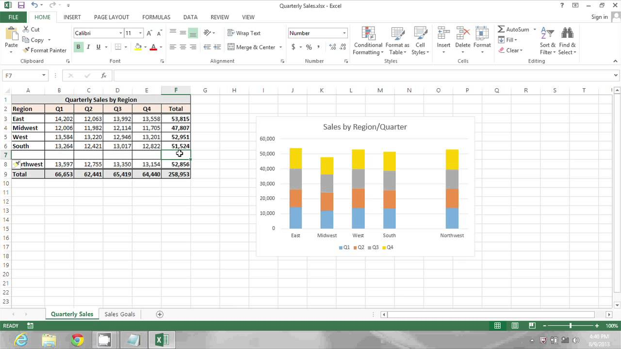How to Insert a Row & Have Formulas Automatically Included in the Row in  ...  MIcrosoft Excel Tips