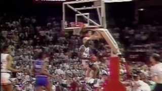 Michael Jordan's Reverse Layup Against Pistons