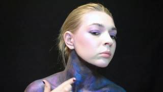 SPACE make-up tutorial #FACEAWARDSRUSSIA2017