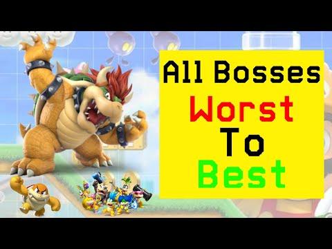 Ranking All The Bosses In Super Mario Maker 2!