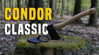 Condor Classic Camping Axe Speed Review GERMAN + (ENGLISH SUBTITLES)