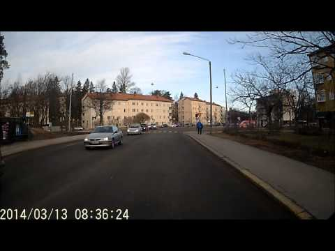 Helsinki bus line 52 Arabia-Munkkiniemi. Bussilinja 52 Part 1/2