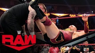 Kevin Owens vs. Mojo Rawley – No Disqualification Match: Raw, Dec. 23, 2019