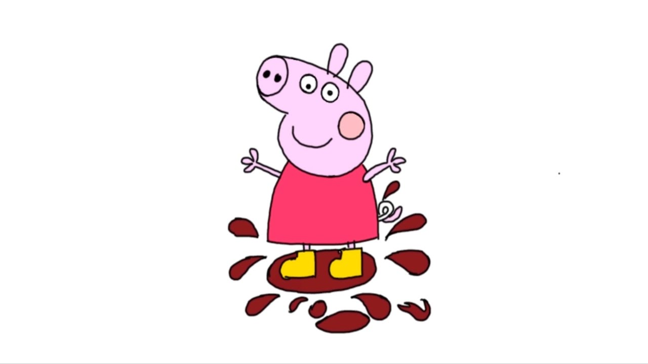 Peppa Pig New Drawing And Coloring Comment Dessiner Peppa