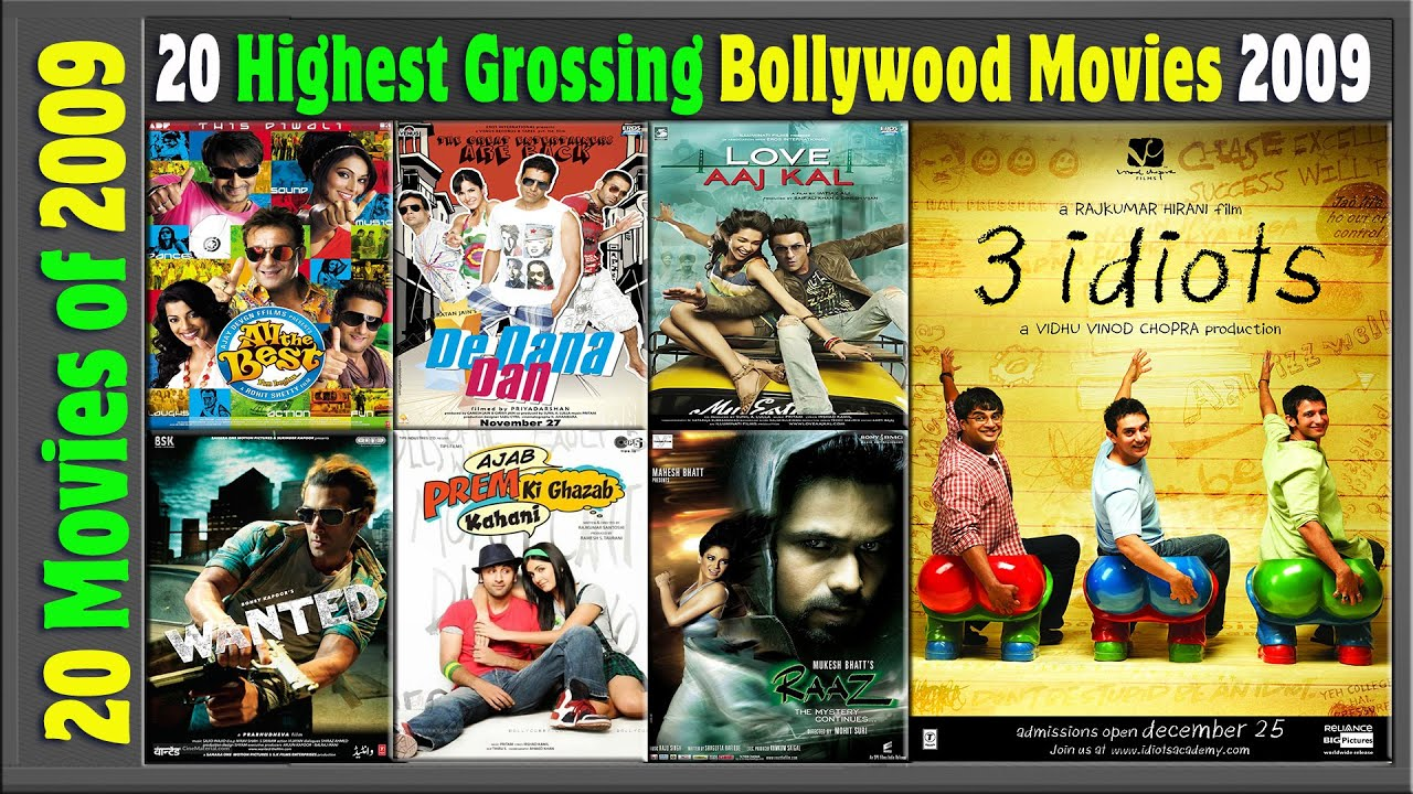 Download Top 20 Bollywood Movies Of 2009   Hit or Flop   2009 की बेहतरीन फिल्में   with Box Office Collection