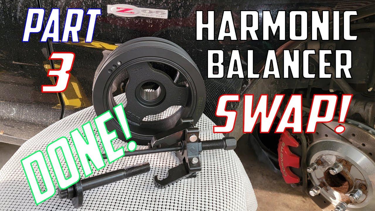 C5 Corvette Z06 Harmonic Balancer Replacement (FINISHED!) Part 3