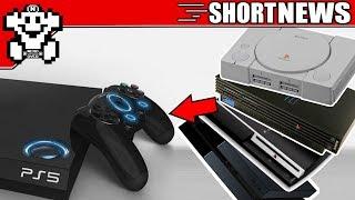 PS5 voll Abwärtskompatibel? Sony Patent aufgetaucht! - Short #NerdNews332