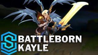 Battleborn Kayle Skin Spotlight - Pre-Release - League of Legends