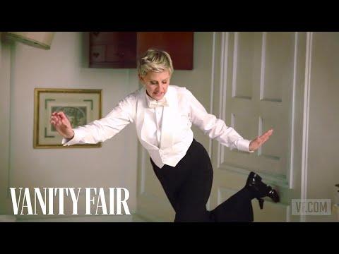 Ellen DeGeneres Poses for Annie Leibovitz