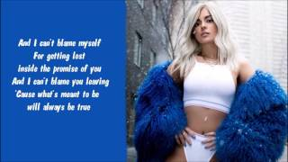 Bebe Rexha - Atmosphere Karaoke / Instrumental with lyrics