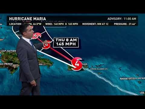 Hurricane Maria Outlook: Sept. 20, 2017