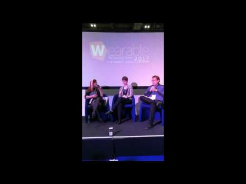 WEAR Sustain Panel at the Wearable Technology Show 2017
