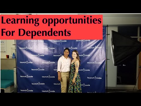Learning Opportunities For Dependents / Free and Paid Learning Courses / Tamil Vlog / USA