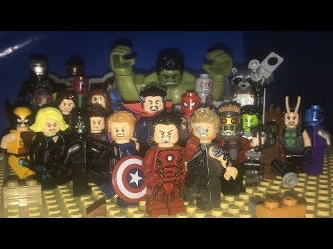 LEGO AVENGERS INFINITY WAR PARODY