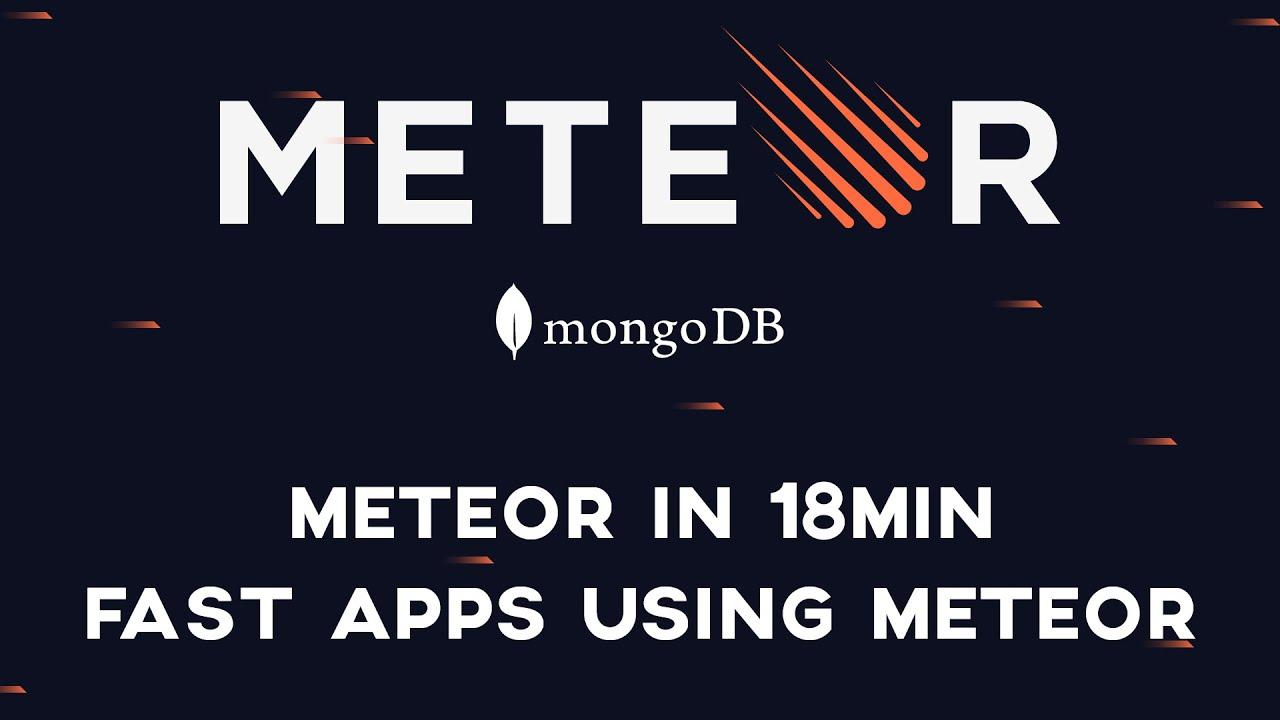 Meteor js   Todo App Crash Course