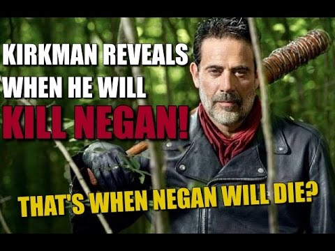 The Walking Dead's Robert Kirkman Reveals When He Will Kill Negan