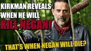 The Walking Dead's Robert Kirkman Reveals When He Will Kill Negan