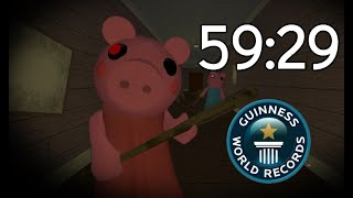 Piggy World Record Speedrun All 12 Chapters Solo 59:29