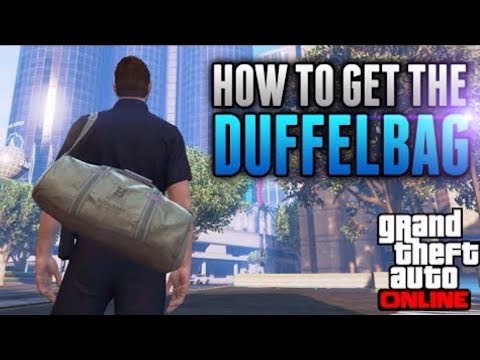 GTA 5 Online|DUFFEL BAG GLITCH|PATCH 1.41