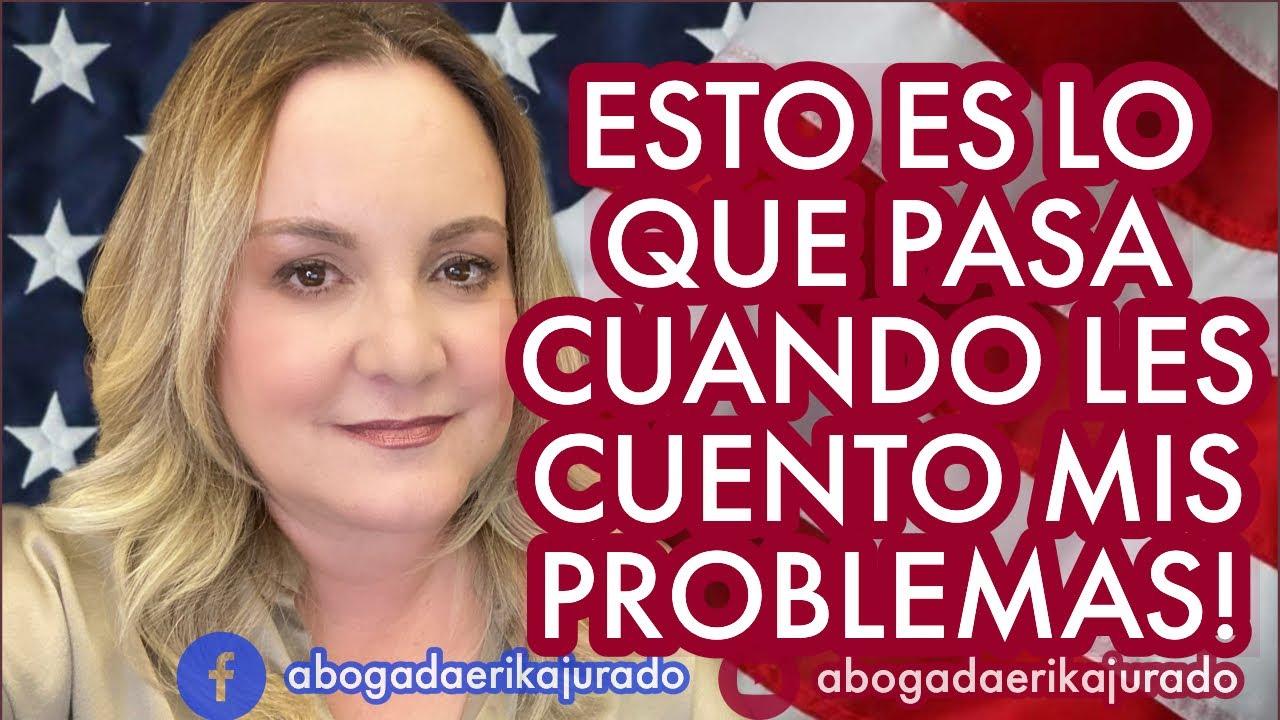 ESTO PASA CUANDO LES CUENTO MIS PROBLEMAS!
