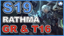 Rathma T16 and GR Speed Necro Season 19 Starter Build