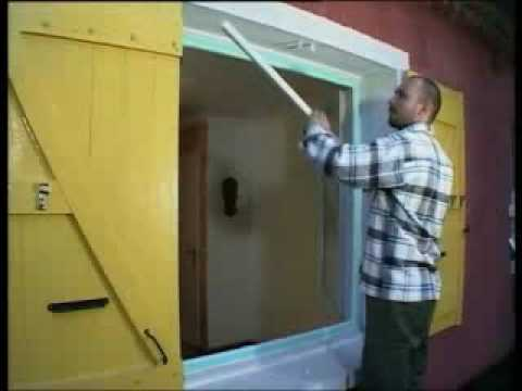 Installation DUne Fentre Pvc En Rnovation  Youtube