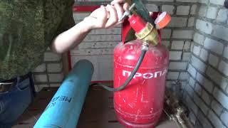 Как настроить редукторы кислород, пропан и какое давление выставить