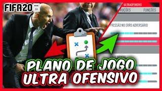FIFA 20 | TÁTICAS, FORMAÇÕES, INSTRUÇÕES  E DICAS ( ULTRA OFENSIVO ) TÁTICA OFENSIVA 424