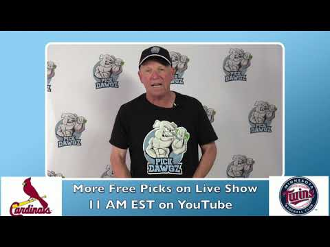 Minnesota Twins vs St  Louis Cardinals Free Pick 7/28/20 MLB Pick and Prediction