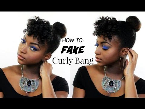 HOW TO FAKE BANGS FAST