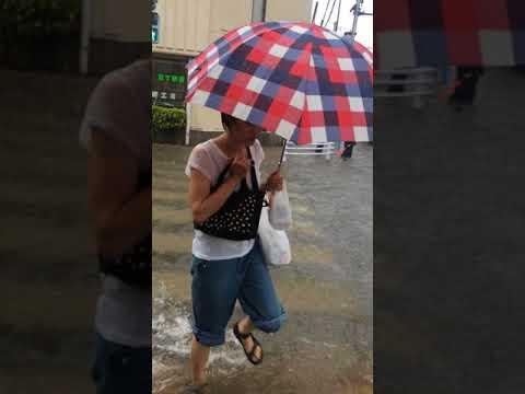 20170725東大和市南街付近の水害