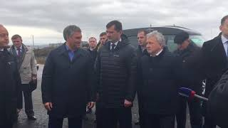 Спикер ГД предложил организовать водный маршрут до аэропорта в Сабуровке