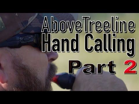 Coyote Hunting / Part 2 Of  Above Treeline In Colorado And Wyoming. Handcalling Coyotes In CO