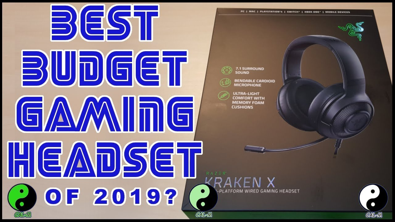 Best Budget Gaming Gaming Headset Of 2019 Razer Kraken X Review Youtube
