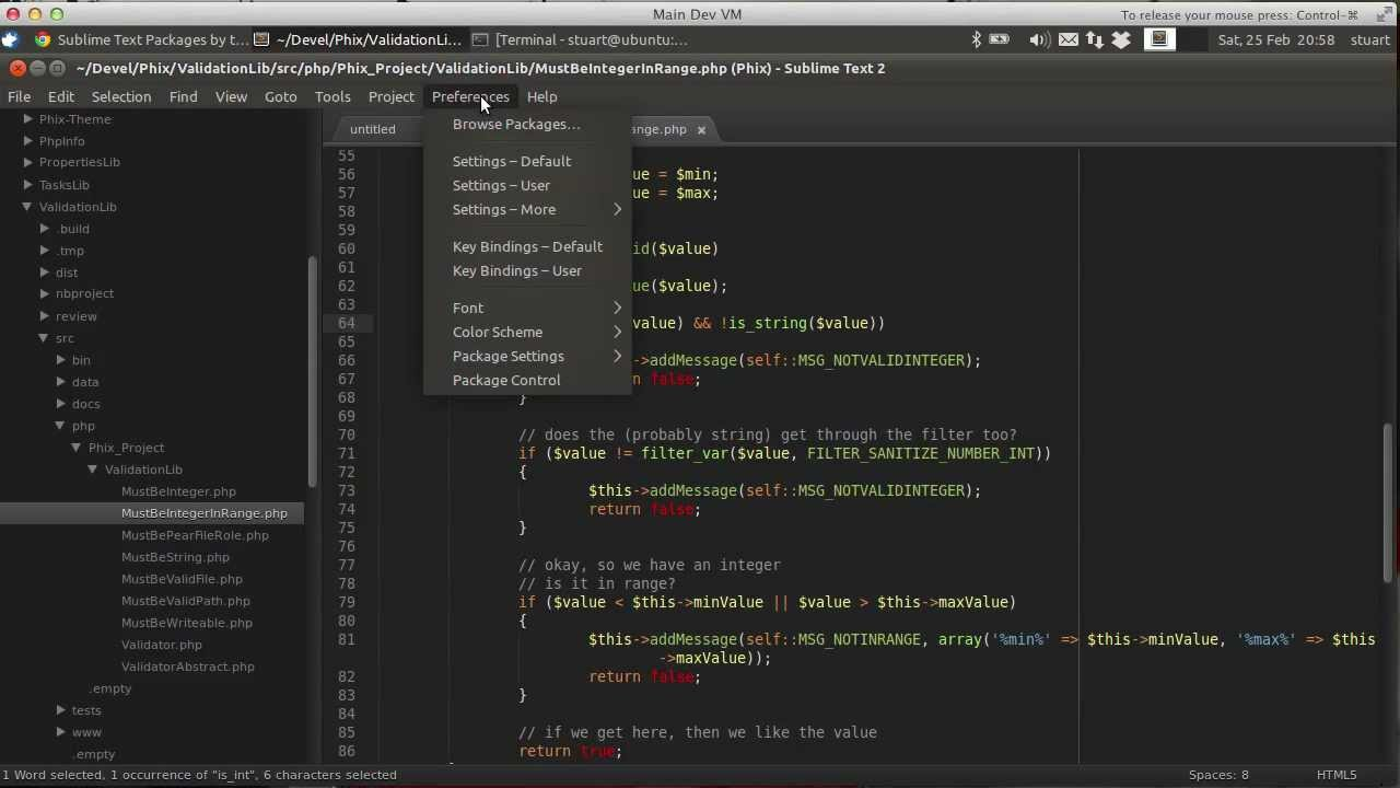Sublime Text 2 For PHP Development: Consulting The PHP Manual Using Goto Documentation