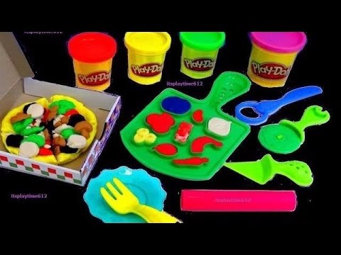PLAY-DOH PIZZA PARTY PLAYSET Creative Activity For Kids | itsplaytime612