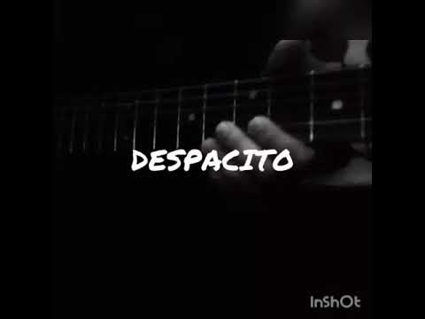 Despacito on guitar