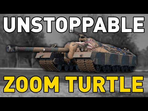 UNSTOPPABLE ZOOM TURTLE - World of Tanks