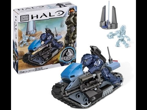 Halo Mega Bloks Unsc Siege Bike 97116 Time Lapse Youtube