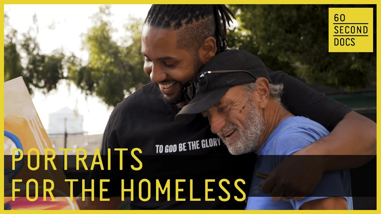 Portraits For The Homeless | Faces of Santa Ana