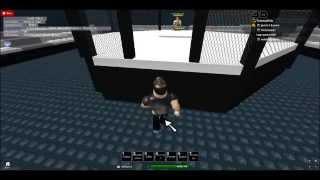 Roblox BONUS! (My Game) MMA: Elite Cagefighting!