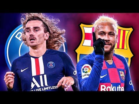 Neymar & Griezmann Set For Barcelona & PSG Swap Deal?! | Euro Transfer Talk