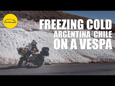 Vespa travel Northern Argentina & Chile