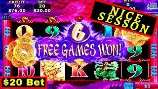 High Limit OPULENT PHOENIX Slot $20 Bet Bonus | Tarzan Grand Slot Bonus Win | Thunder Cash Live Play