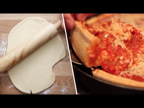 Deep Dish Pizza Review- Buzzfeed Test #75