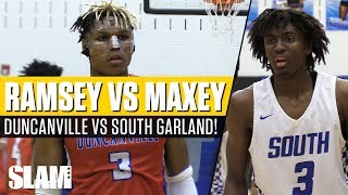 Tyrese Maxey takes on Jahmius Ramsey! South Garland vs Duncanville | SLAM Highlights