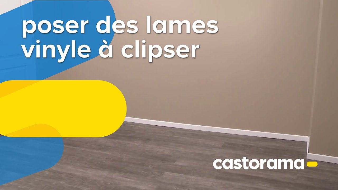 Poser Des Lames Vinyle A Clipser Castorama Youtube