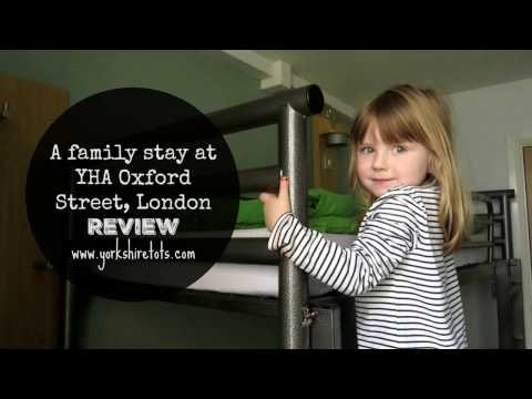 YHA Oxford Street London Family Stay Review